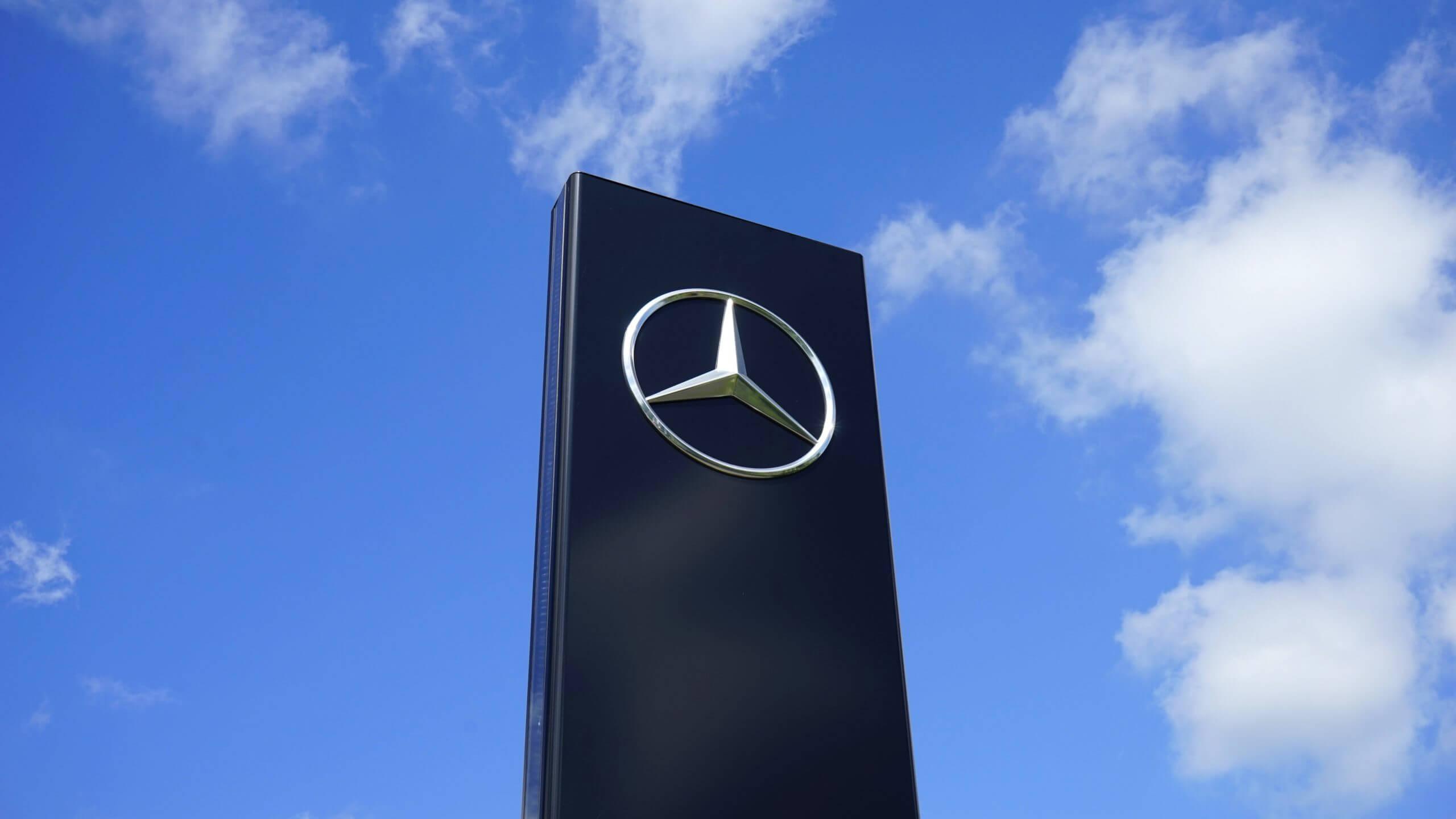 Logo Mercedes Para Concesionario Min