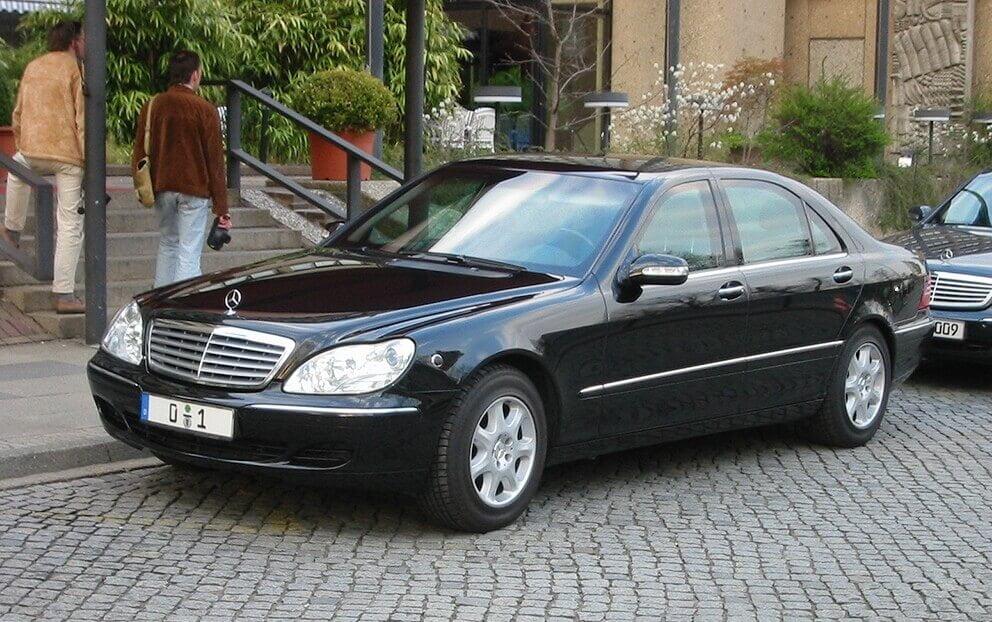 Mercedes Benz Clase S W220 Cuarta Generación 1998 2005
