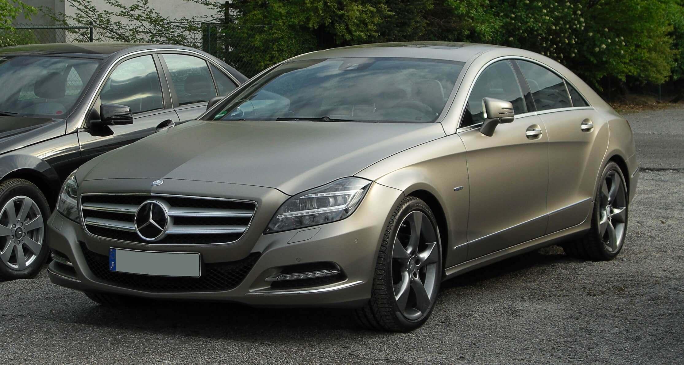 Mercedes Cls W218 Segunda Generación