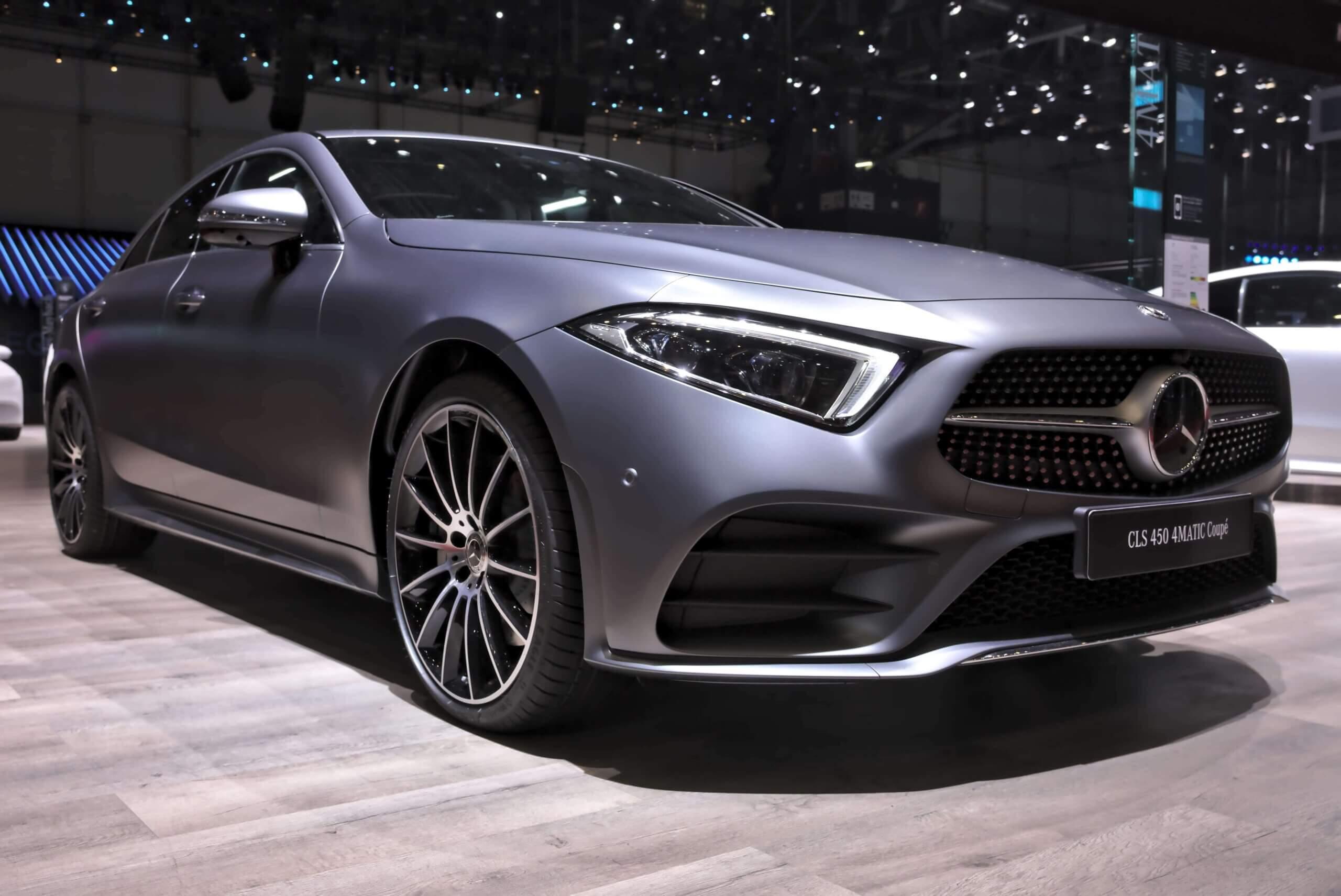 Mercedes Cls W257 Tercera Y Actual Generación