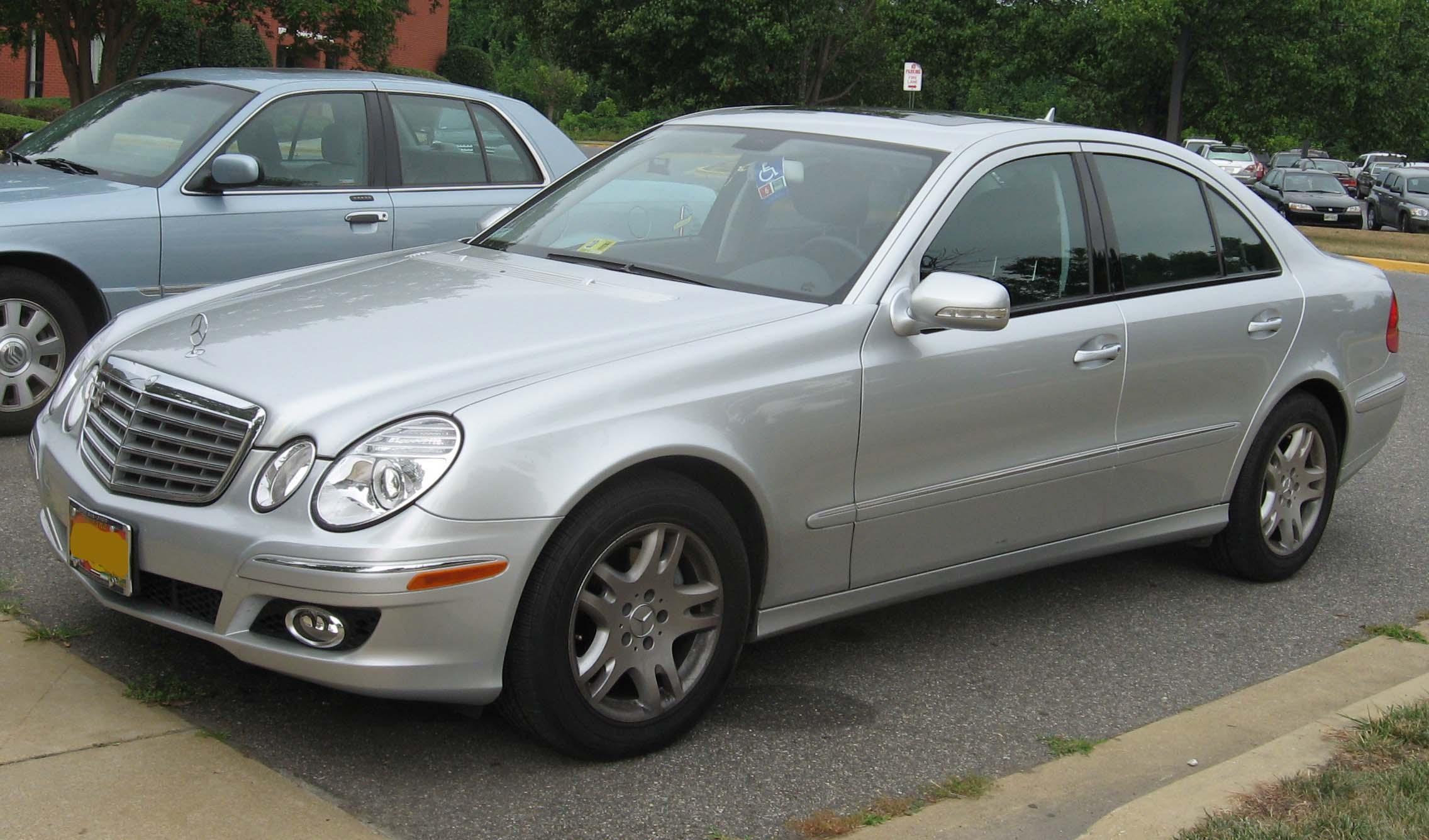 Mercedes Clase E W211 Tercera Generación