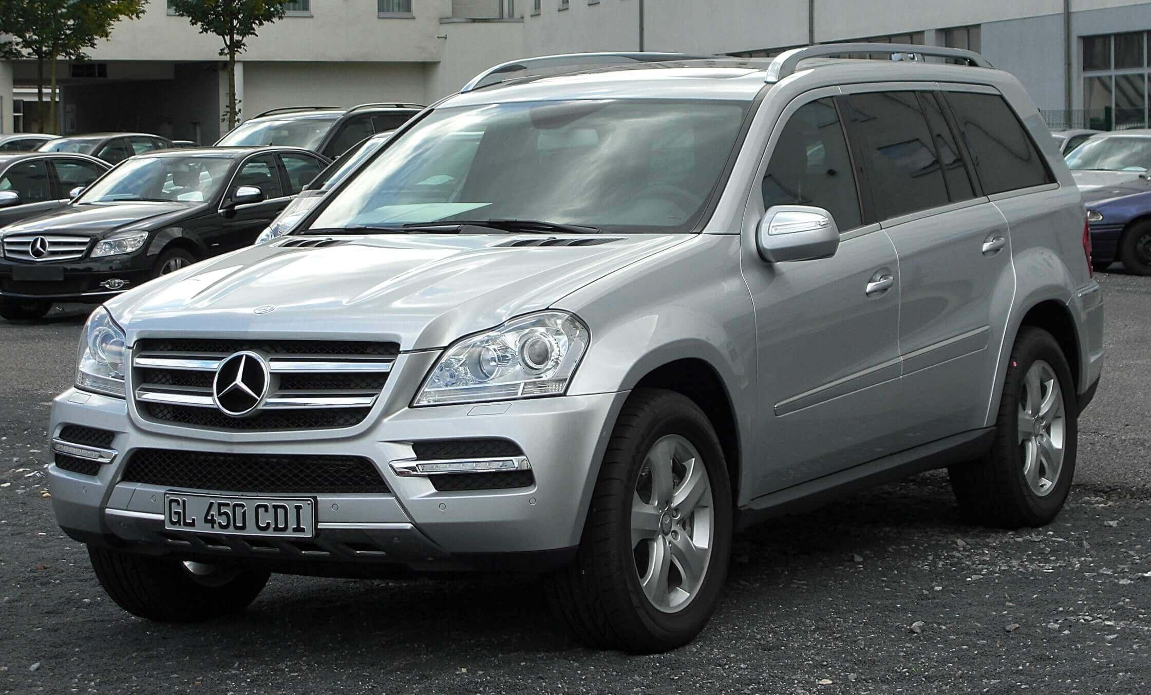 Mercedes Clase Gl X164 Primera Generación