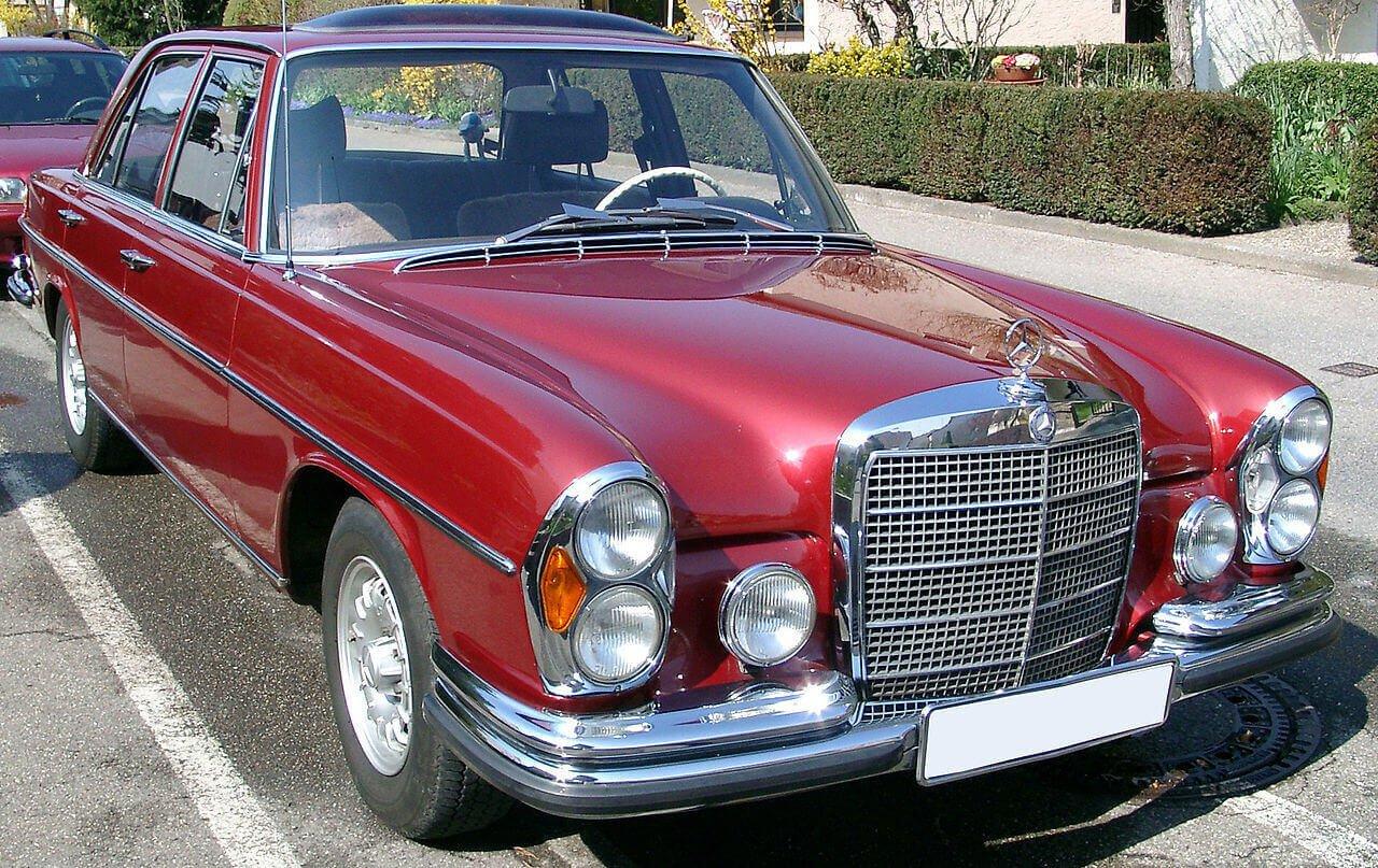Mercedes Clase S W108 W109 1965
