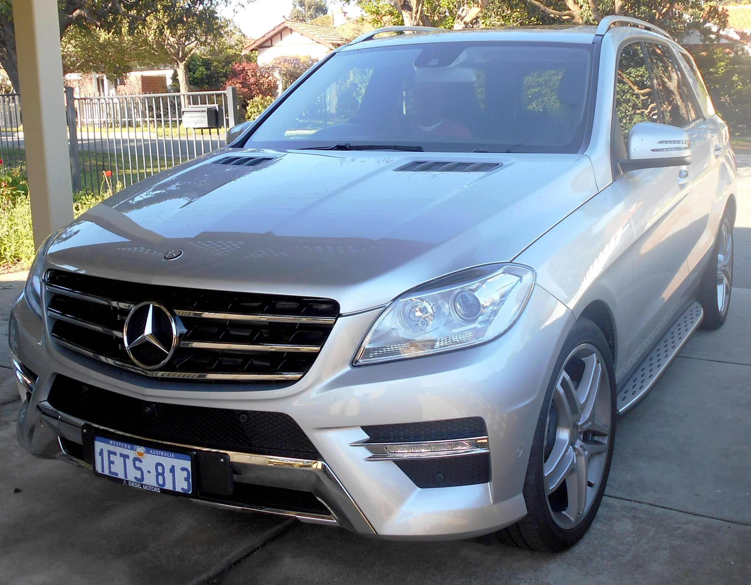 Mercedes Ml W166 Tercera Generación