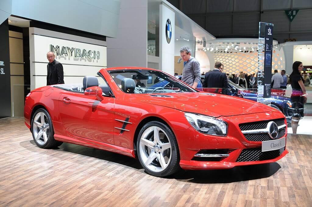 Mercedes Sl R231 Sexta Generación 2011 Actualidad