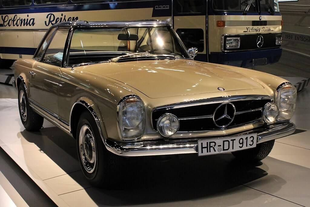 Mercedes Sl W113 Segunda Generación 1963 1971