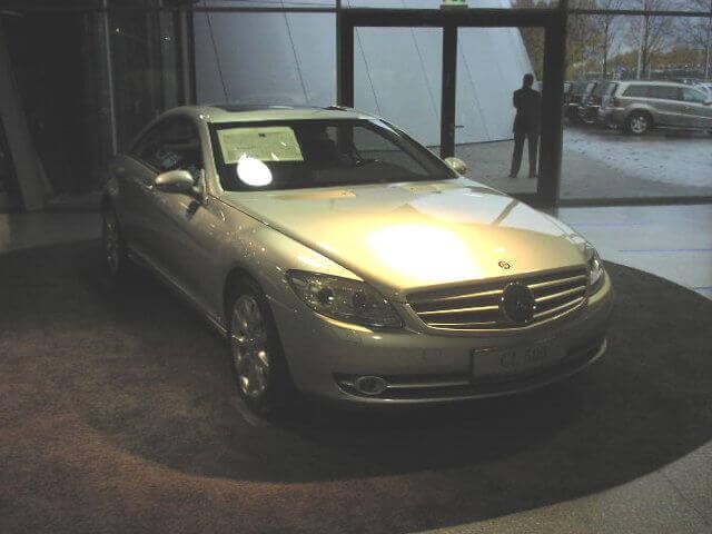 Mercedes Cl C216 Tercera Generacion