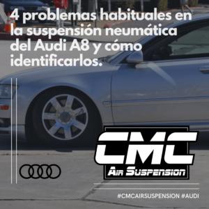 4 Problemas Suspension Neumatica Audi A8 Y Como Identificarlos