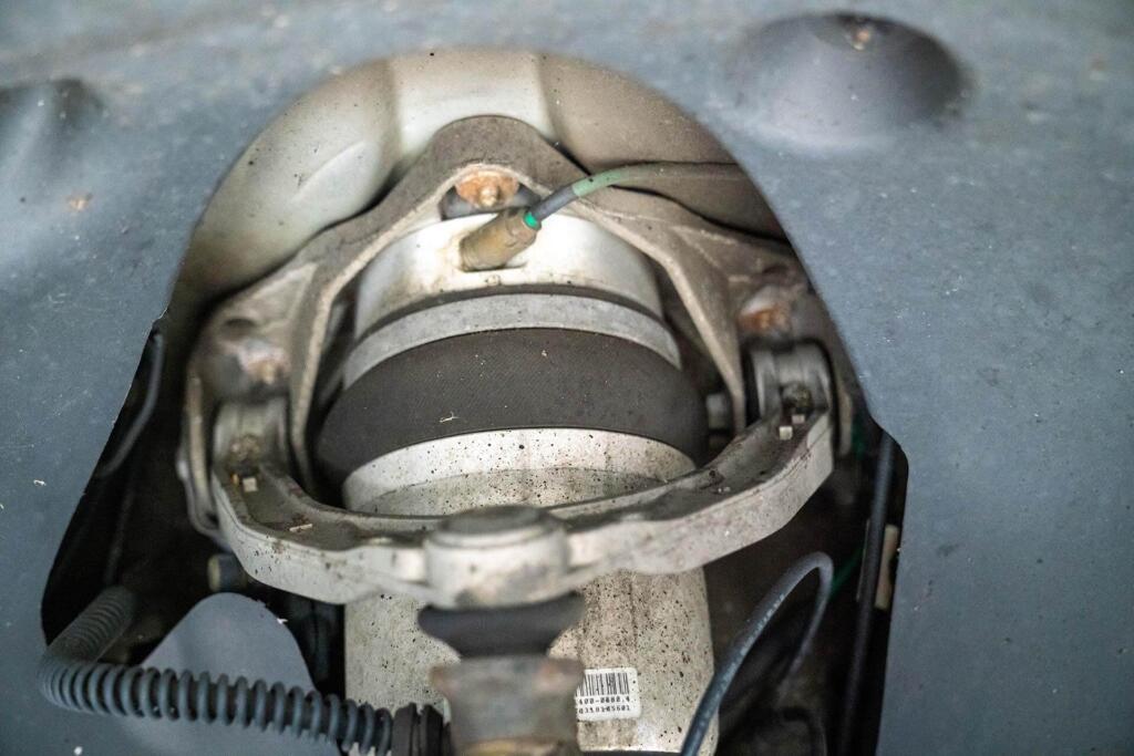 Conexión De La Suspensión Neumática Porsche Cayenne 955 957 Pasm