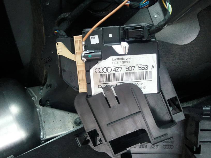 Suspension Modulo De Control Audi A8 4z7 907 553 A