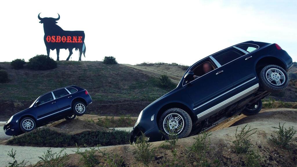 Suspension Neumatica Porsche 955 Cayenne S Fuera De Carretera